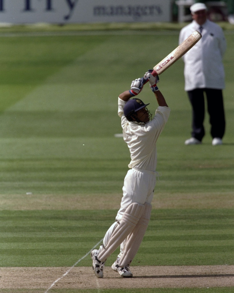 Tendulkar during MCC v/s ROI match in 1998 (Picture: Espncricinfo.com)