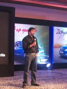 Narain Karthikeyan speaks about the Zest
