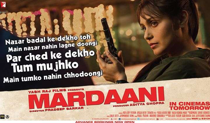 Picture Source: Mardaani FB Page
