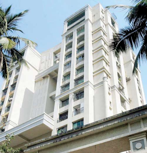 A tower in Versova (Picture: Mid-Day)