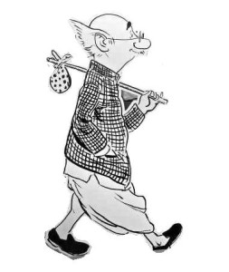 R K Laxman's Common Man. (Picture: Students.smcm.edu)