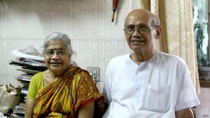 Real Garu Hari Das with his wife. (Picture: Indiatimes.com)