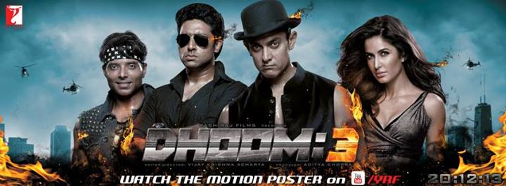 dhoom-3-poster - The Common Man Speaks A Common Man Poster