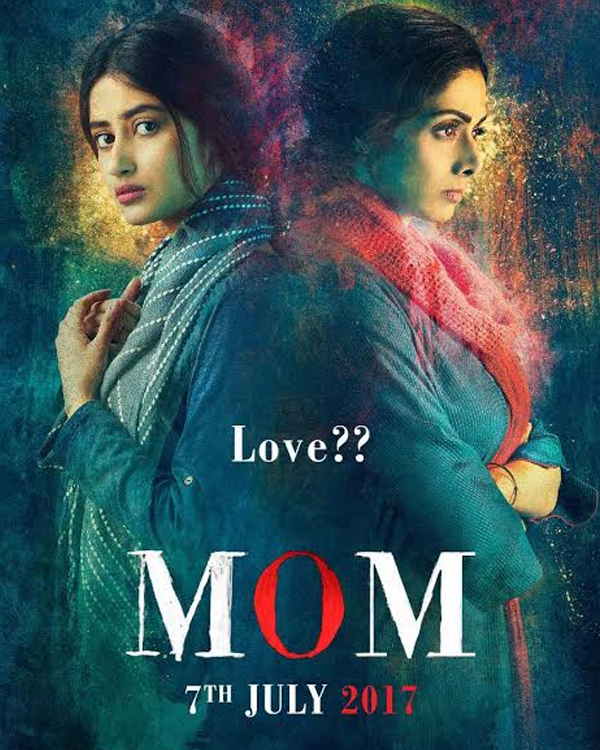Mom Sridevi poster