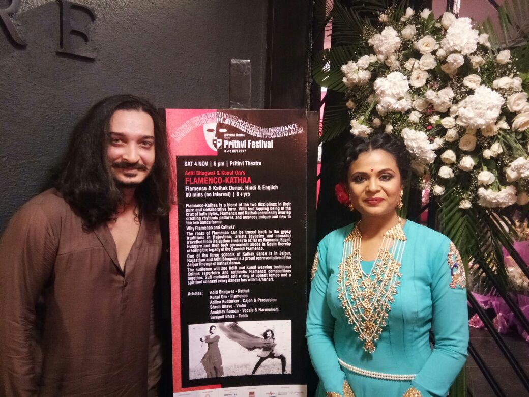 Kunal Om and Aditi Bhagwat