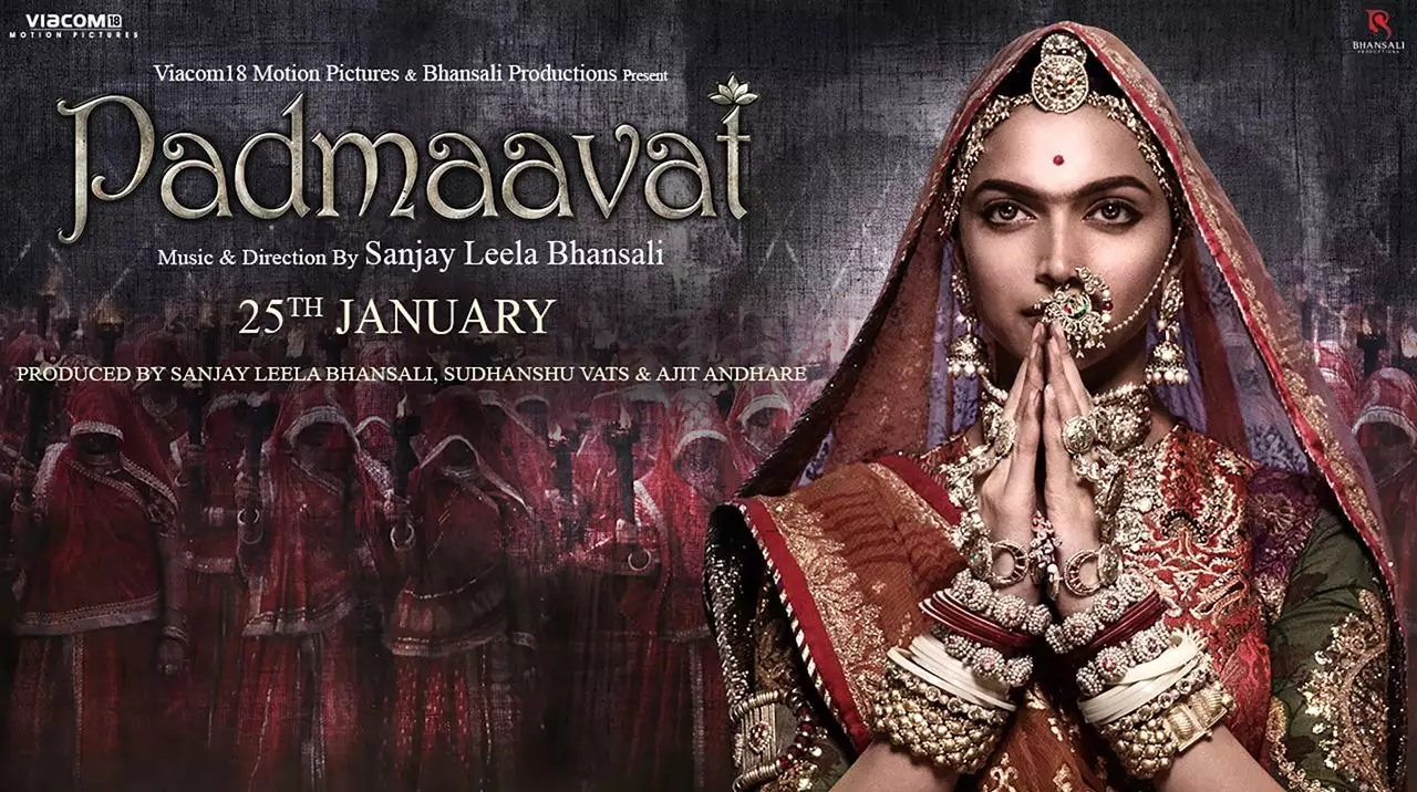 Padmaavat poster - The Common Man Speaks A Common Man Poster