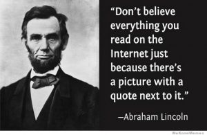 Abraham Lincoln meme