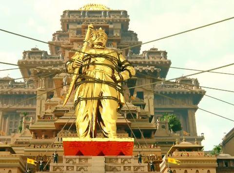 Bhallaladeva statue