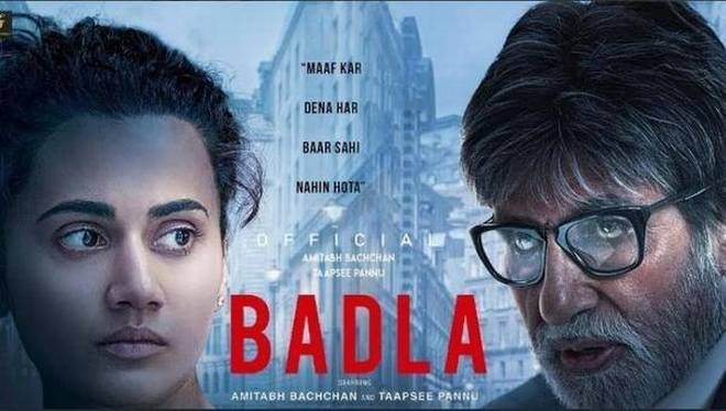 Badla Review - The Common Man Speaks A Common Man Poster