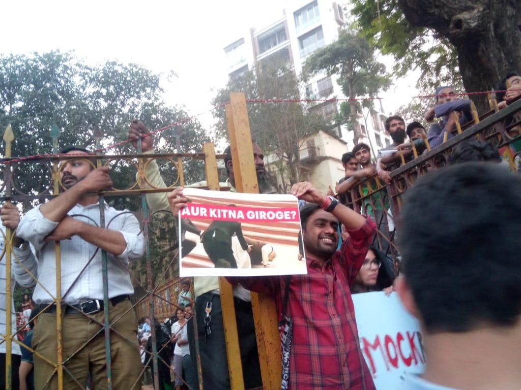 CAB protest mumbai