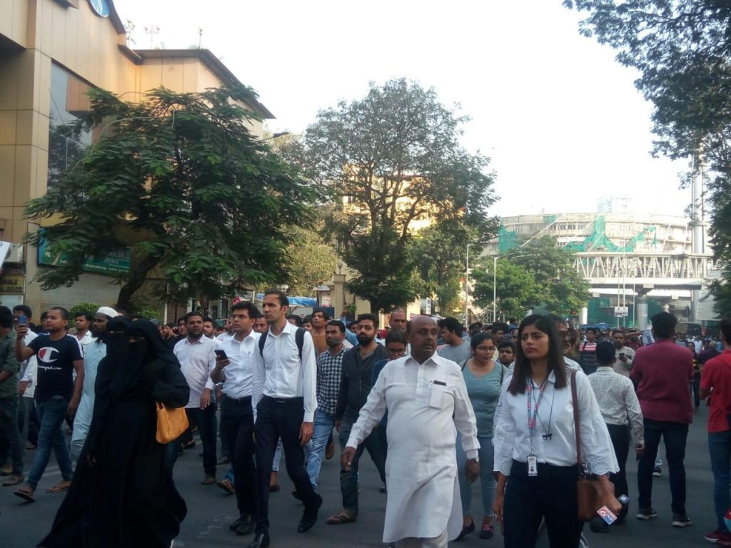 NRC protest in Mumbai