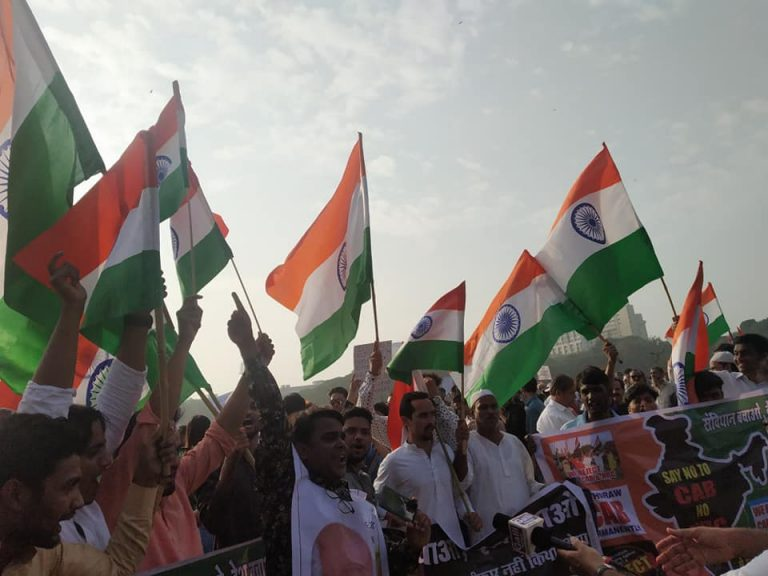 Anti NRC protests against BJP