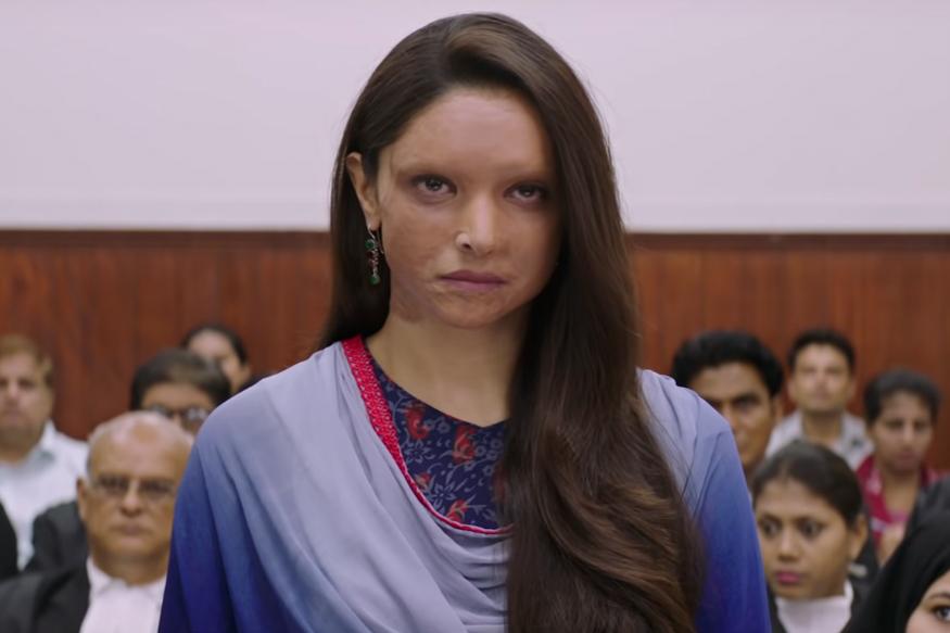 Deepika Padukone in Chhapaak