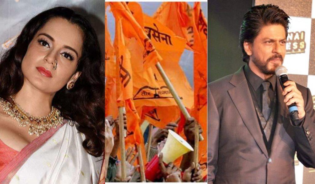 Kangana-Shiv Sena