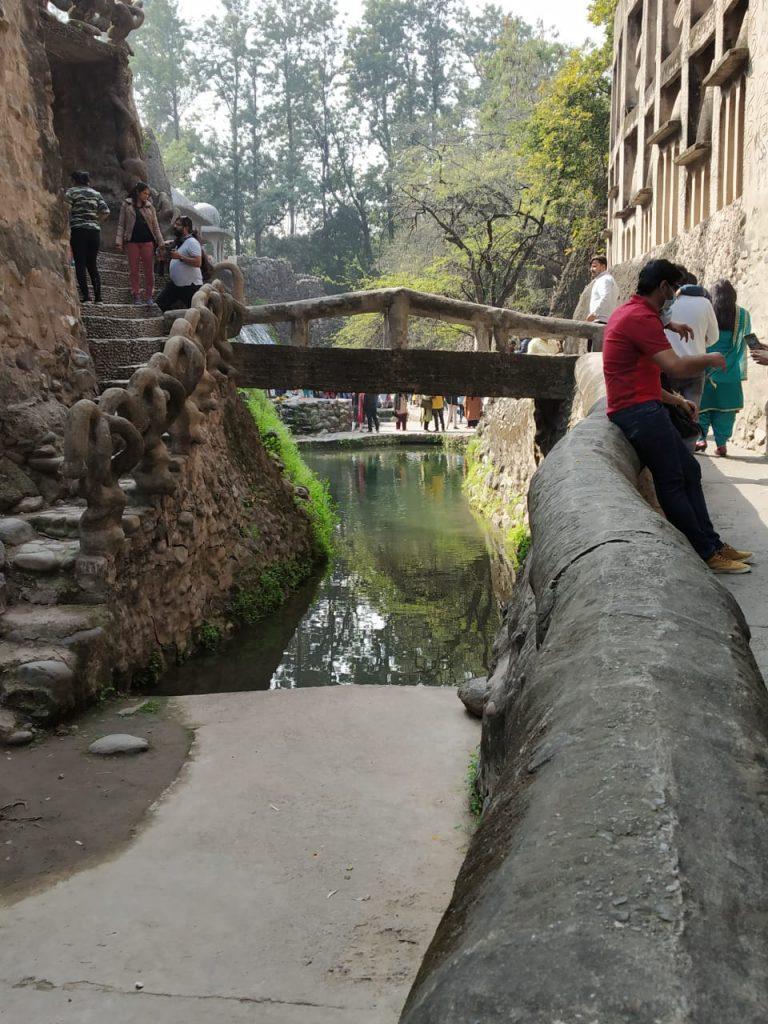 Bridge in Rock Garden