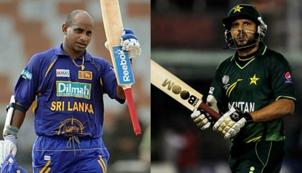 Jayasuriya and Afridi