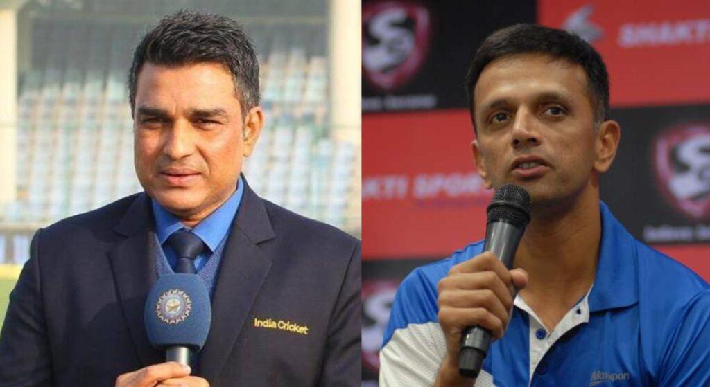 Sanjay Manjrekar and Rahul Dravid