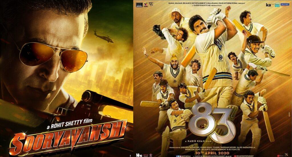 Sooryavanshi and 83